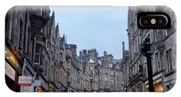 Old Town Edinburgh IPhone Case