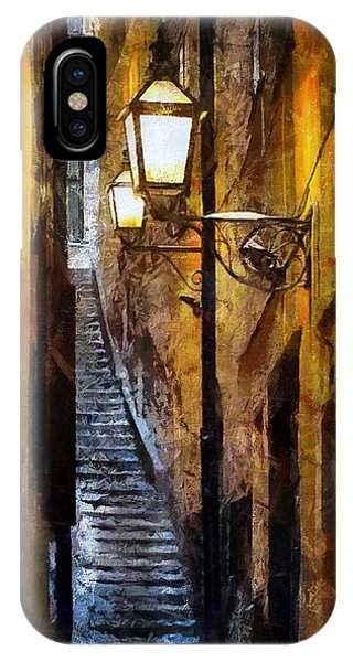 Old Town In Stockholm IPhone Case