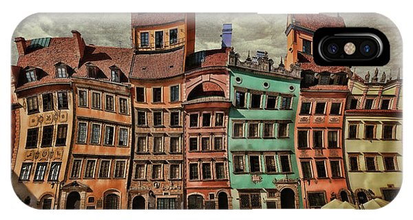 Old Town In Warsaw #15 IPhone Case