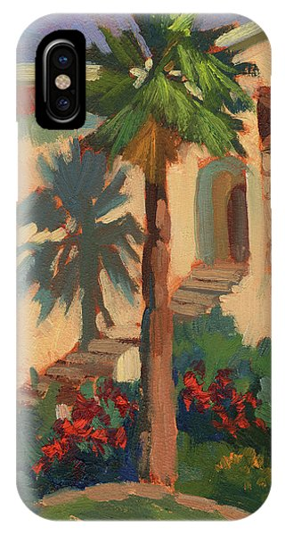 Old Town La Quinta Palm IPhone Case