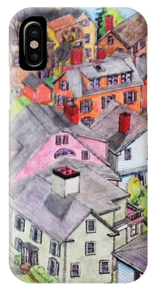 Old Town Marblehead IPhone Case
