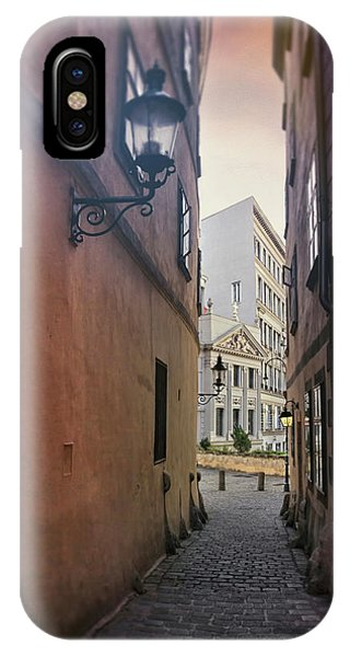 Old Town Vienna Narrow Alley  IPhone Case