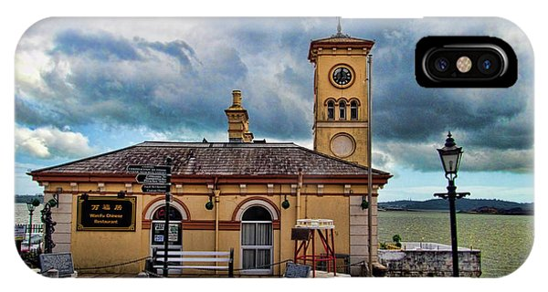 Navigation iPhone Case - Old Townhall  In Cork Ireland by David Smith