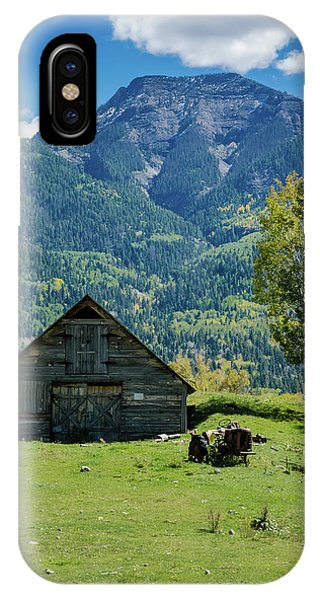 IPhone Case featuring the photograph Old Tractor by Jason Coward