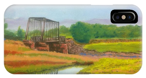 Old Train Bridge -annapolis Royal  IPhone Case