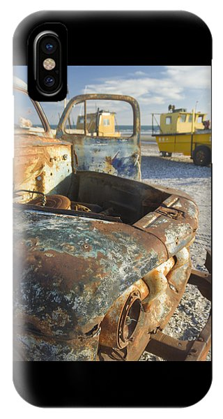 Old Truck In The Beach IPhone Case