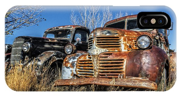 Old Trucks IPhone Case