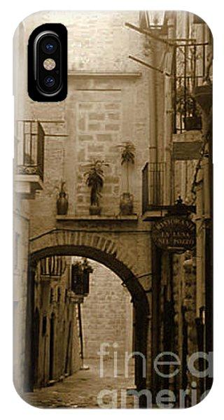 Old Village Street IPhone Case