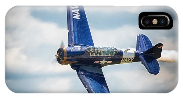 Old Warbird Trainer IPhone Case