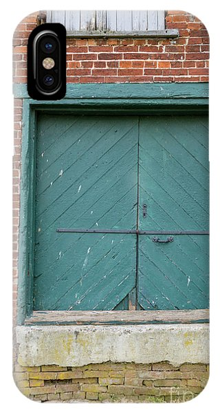 Old Warehouse Loading Door IPhone Case