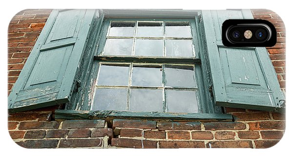 Old Warehouse Window IPhone Case