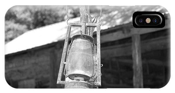 Old Western Lantern IPhone Case