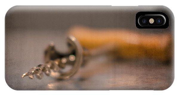 Old Wine Opener IPhone Case