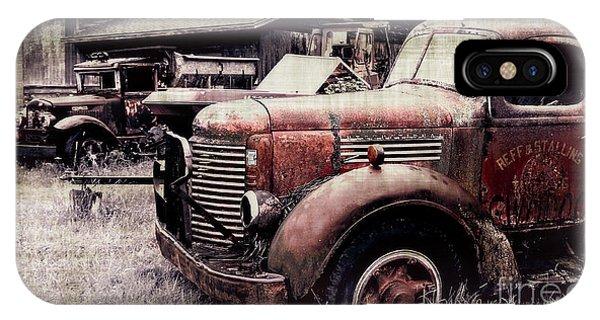 Old Work Trucks IPhone Case