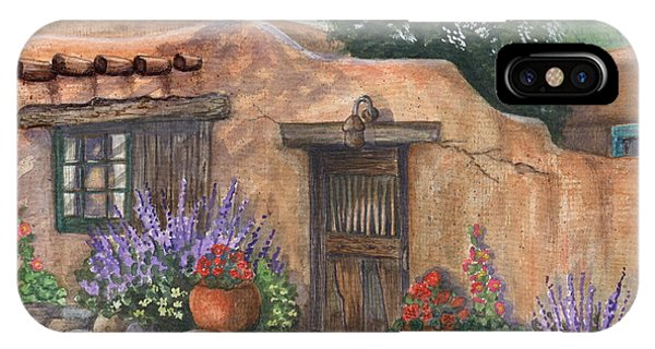 Old Adobe Cottage IPhone Case