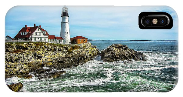 Oldest Lighthouse In Maine IPhone Case