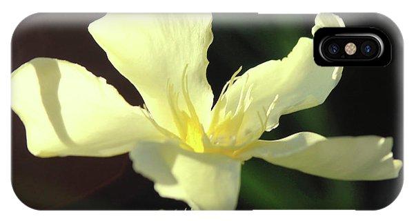 Oleander Marie Gambetta 1 IPhone Case