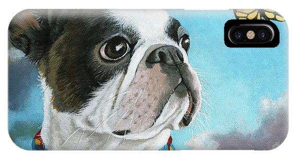 Oliver - Dog Pet Portrait IPhone Case