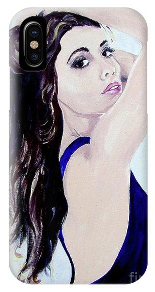 Olivia IPhone Case