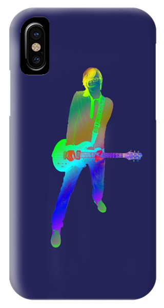 Good Humor iPhone Case - olourful guitar player. Music is my passion by Ilan Rosen