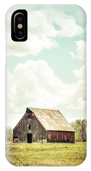 Olsen Barn In Green IPhone Case