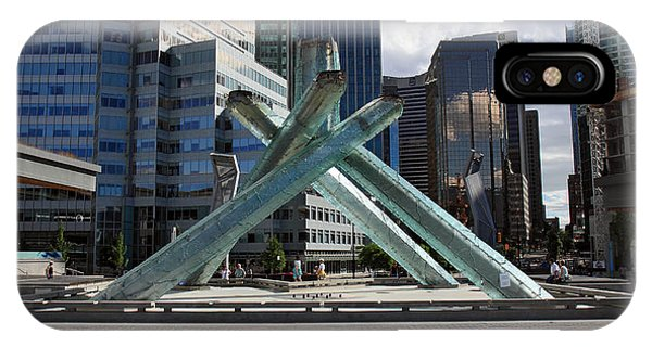 Olympic Cauldron Vancouver Canada Phone Case by Pierre Leclerc Photography