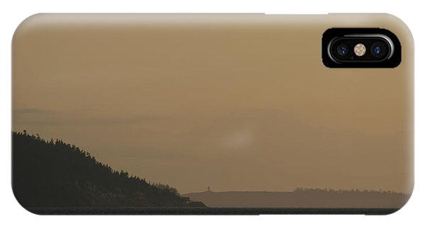 Port Townsend iPhone Case - Olympic Lighthouses by Dylan Punke
