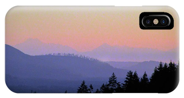 Olympic Silhouette IPhone Case