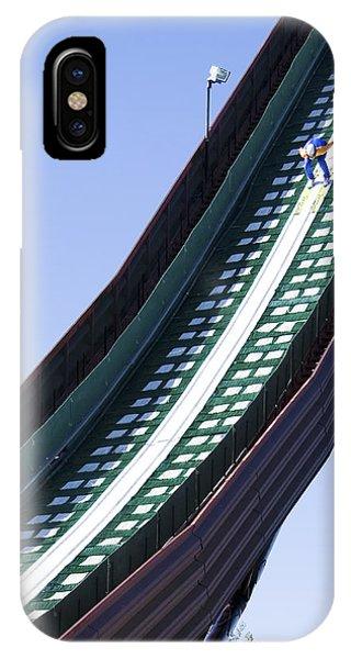 Olympic Ski Jump Training IPhone Case