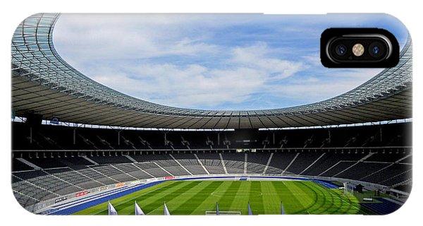 Olympic Stadium Berlin IPhone Case