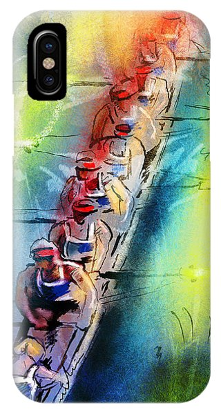 Olympics Rowing 02 IPhone Case