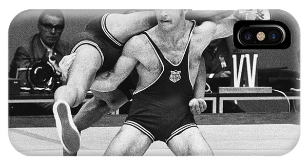 Olympics: Wrestling, 1972 IPhone Case