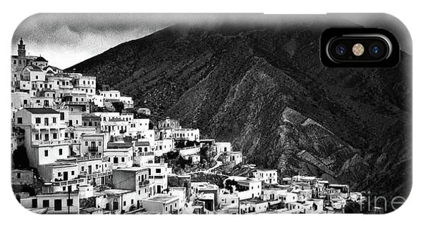 Olympos. Karpathos Island Greece IPhone Case