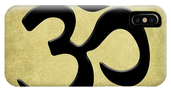 Om Gold IPhone Case