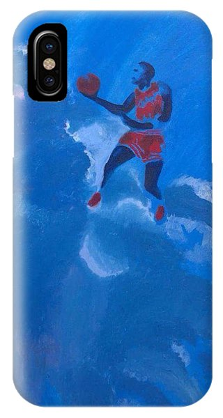 Omaggio A Michael Jordan IPhone Case