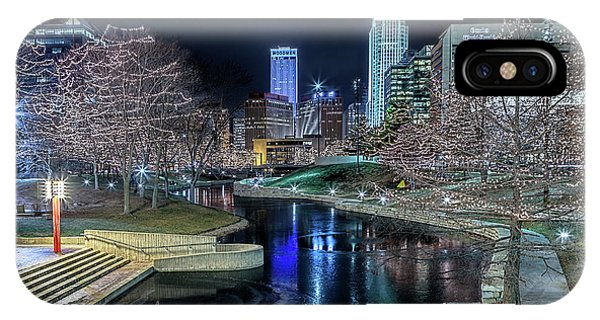 Omaha Holiday Lights Festival IPhone Case