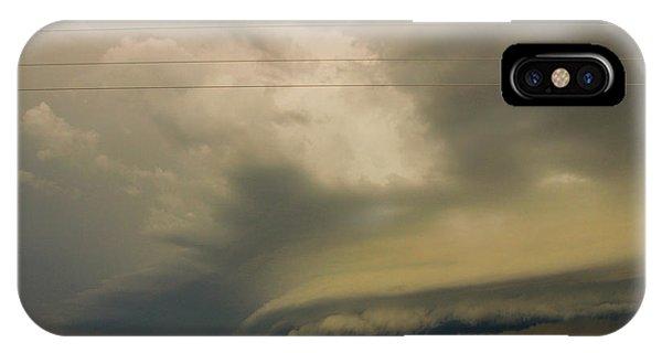 Ominous Nebraska Outflow 007 IPhone Case