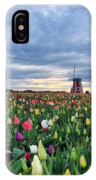 Ominous Spring Skies IPhone Case
