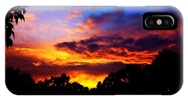 Ominous Sunset IPhone Case
