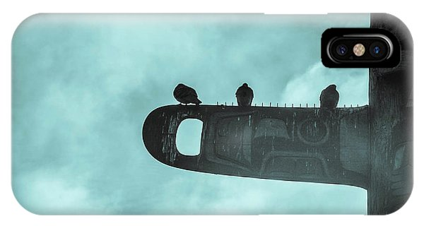 Ominously Seatlle  IPhone Case