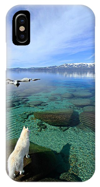 IPhone Case featuring the photograph  On A Clear Day You Can See Forever by Sean Sarsfield
