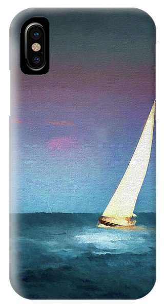 Regatta iPhone Case - On A Good Day by Marvin Spates