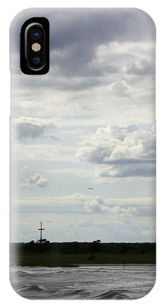 On A Hill Far Away IPhone Case