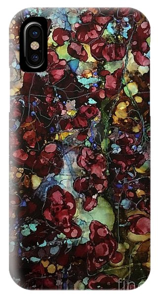 On Clustered Vine IPhone Case