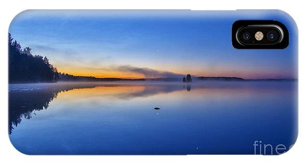 Salo iPhone Case - On July Morning At 03.10 by Veikko Suikkanen