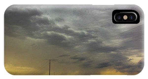 Nebraskasc iPhone Case - On My Way To Wray Colorado 011 by NebraskaSC