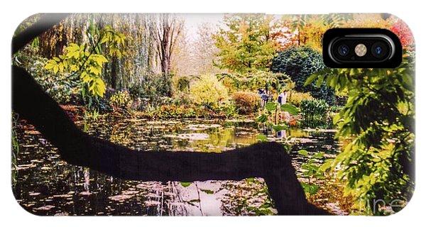 On Oscar - Claude Monet's Garden Pond  IPhone Case