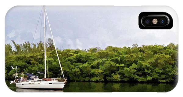 On Quiet Waters IPhone Case