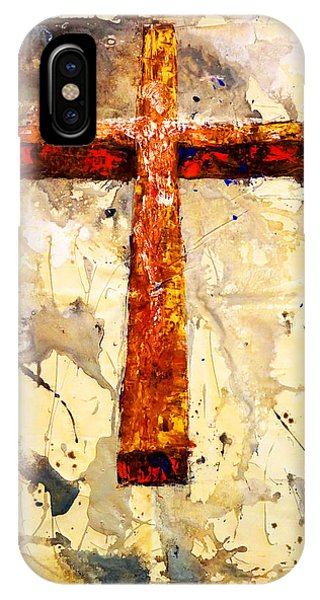 On That Old Rugged Cross IPhone Case
