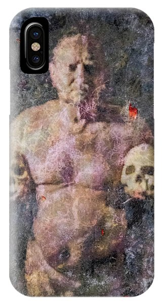 On The Altar Of Skull Carson #3. A Self-portrait, 2016 IPhone Case